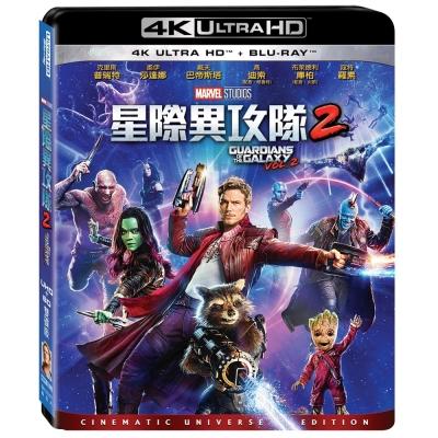 星際異攻隊2 UHD+BD 雙碟版 藍光 BD