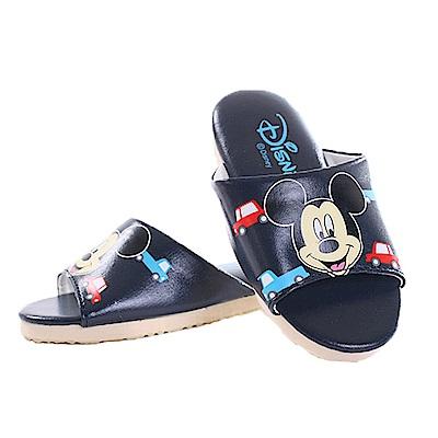 迪士尼米奇室內拖鞋 黑 sk0256 魔法Baby
