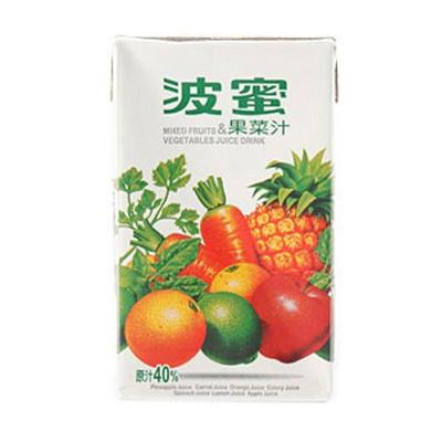 波蜜果菜汁300ml(6入)