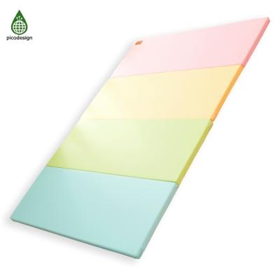 韓國 Pico design 皮可設計無毒地墊-馬卡龍四色墊 (大)