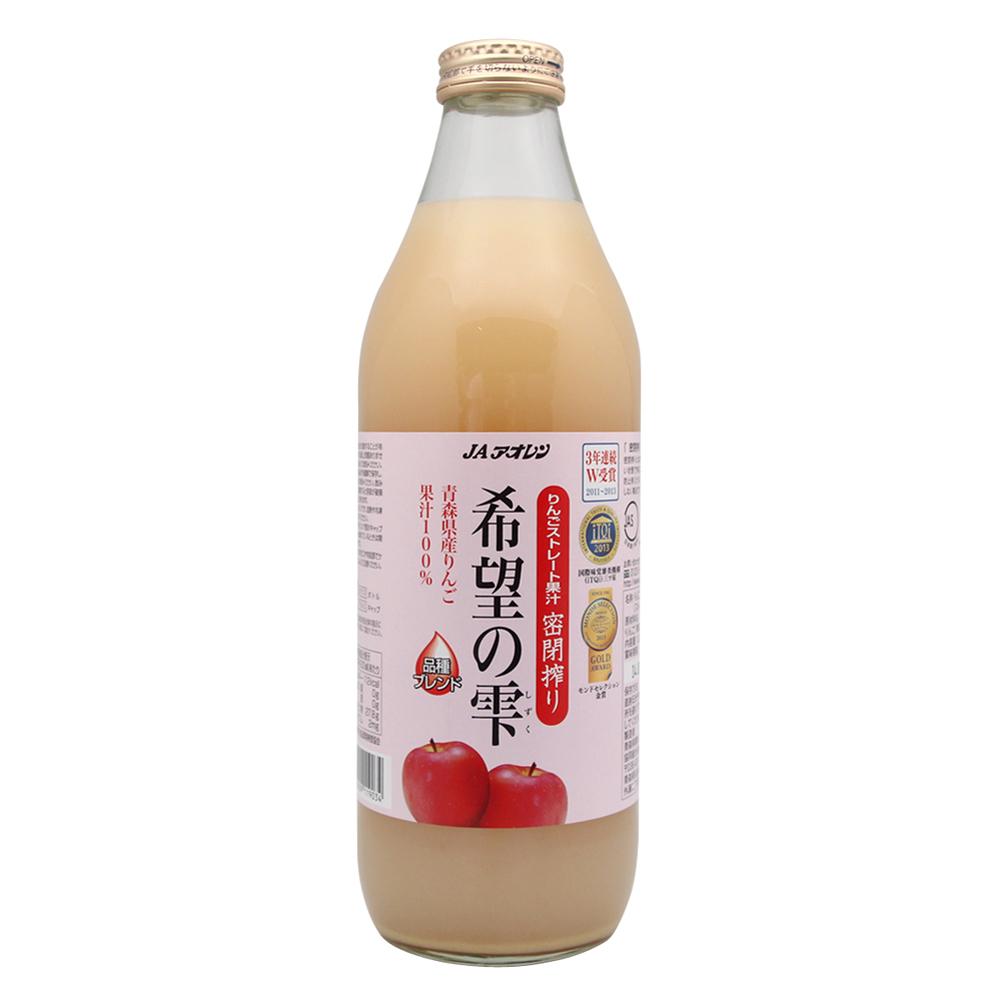 青森農協 希望之露蘋果汁(1000ml)