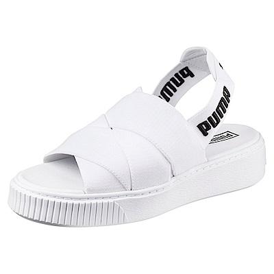 PUMA-PUMAPlatformSandal女性涼鞋-白色