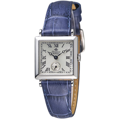 玫瑰錶 Rosemont 戀舊系列時尚腕錶-藍色/23x23mm