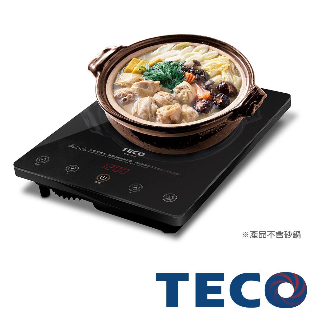 TECO東元微電腦觸控不挑鍋電陶爐XYFYJ010