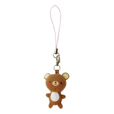 UNIQUE 動物樂園迷你公仔吊飾。小棕熊