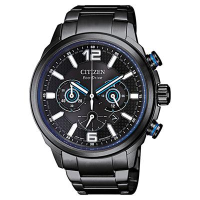 CITIZEN  躍動旅程光動能腕錶-CA4385-80E-43mm
