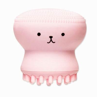 iSFun 洗顏專用 章魚潔顏卸妝矽膠按摩刷