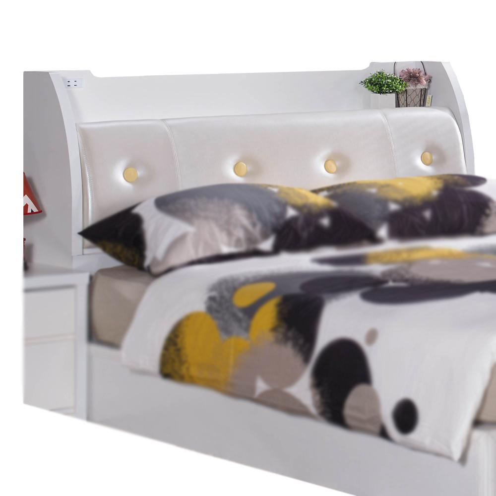 床頭箱 小北歐6尺雙人加大 愛比家具