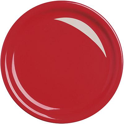 EXCELSA Fashion陶製淺餐盤(紅26.5cm)
