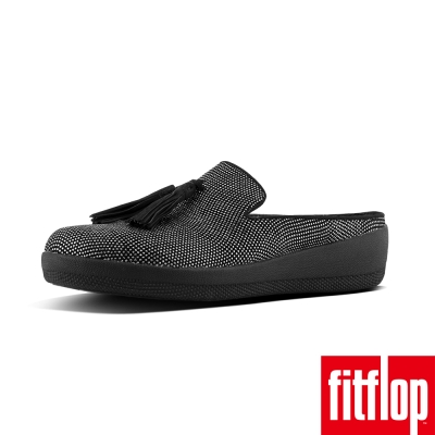 FitFlop TM-TASSEL SUPERSKATE TM SLIP-ON-黑