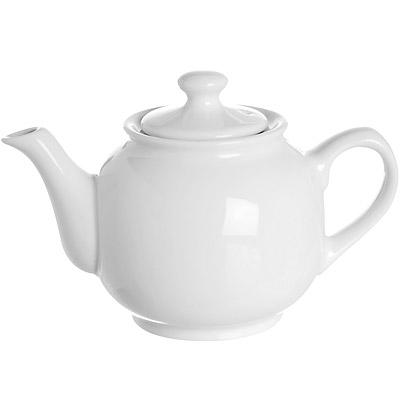 EXCELSA Division圓肚過濾茶壺(白0.6L)
