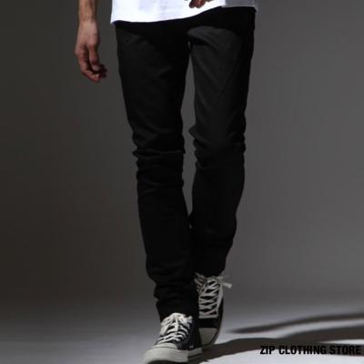 CHEAP-MONDAY黑色牛仔褲-ZIP日本男裝