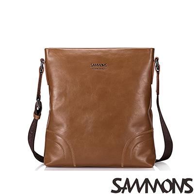 SAMMONS-真皮羅素克洛經典斜背包-共二色