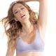 運動內衣 Home Bra系列 無鋼圈舒適款B-D罩杯(薰衣紫) 黛安芬 product thumbnail 1