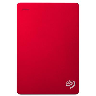 Seagate 5TB Backup Plus 2.5吋行動硬碟-紅色系