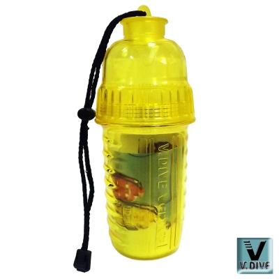 V.DIVE 威帶夫造型防水盒 VW-DB01Y透明黃