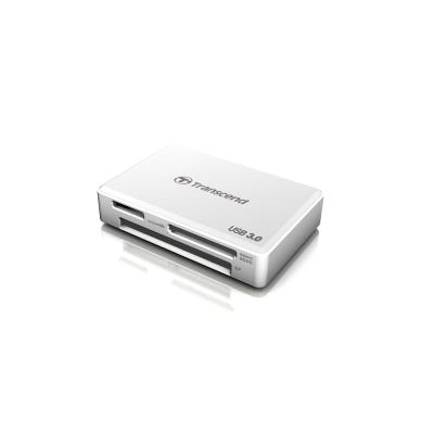 創見USB 3.0多功能讀卡機(白)