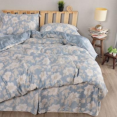 夢工場 晴絲寄語天絲頂規款四件套鋪棉床罩組-雙人