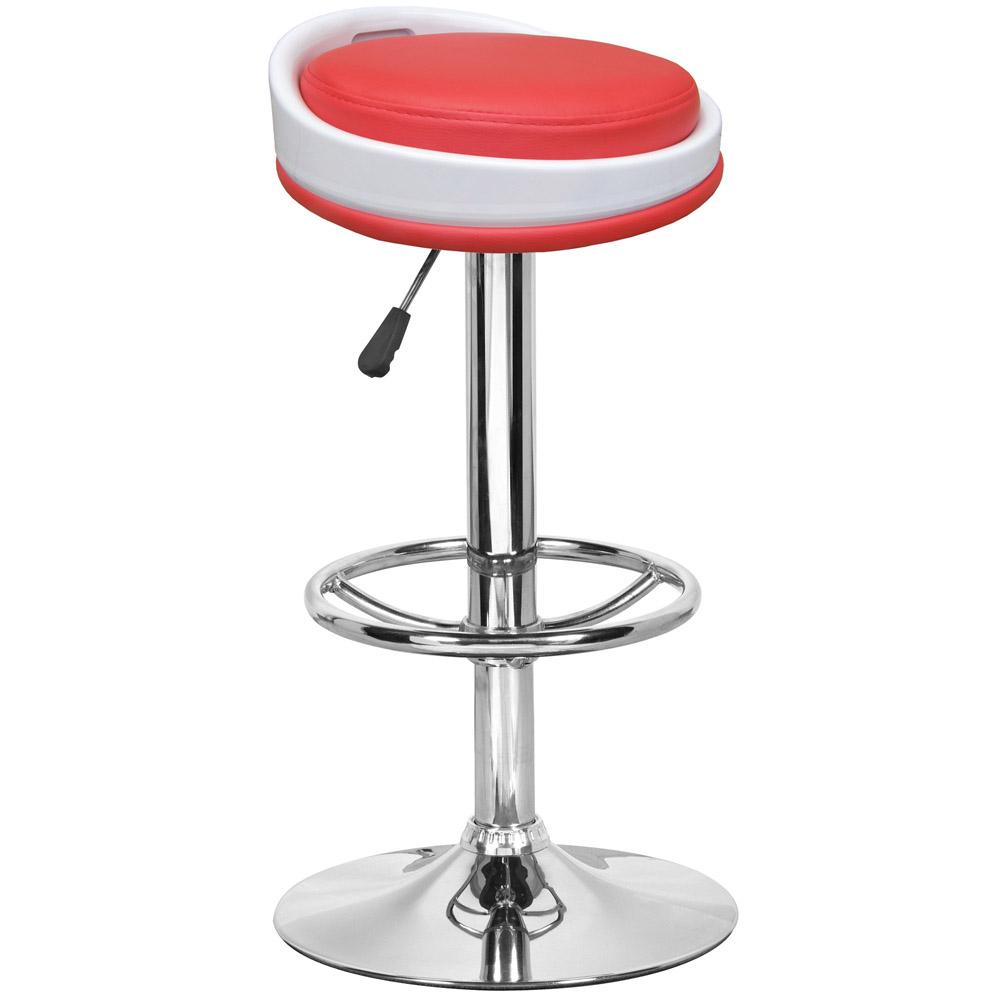 E-Style 高級舒適型PU皮革椅面-吧台椅/洽談椅/會客椅/高腳椅(2入組)三色