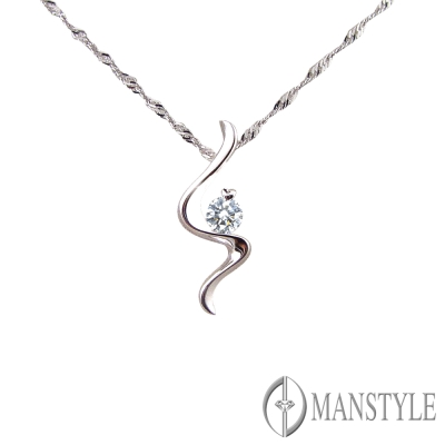 MANSTYLE 夢幻女郎 0.20ct 鑽石墜子
