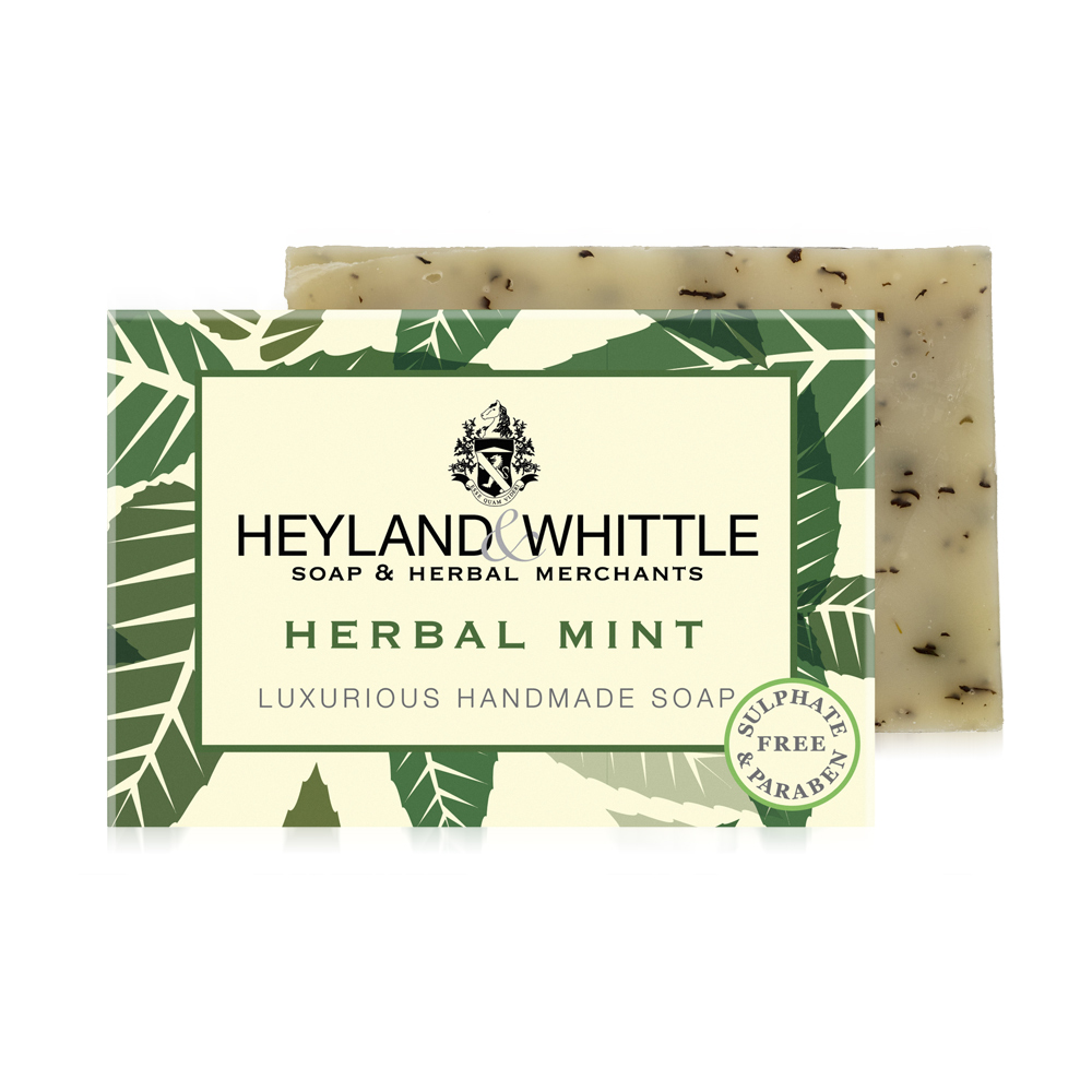 H&W英倫薇朶 綠野薄荷手工香氛皂120g