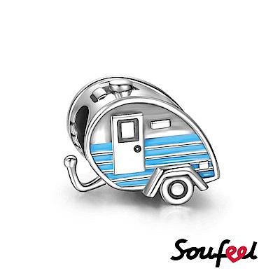 SOUFEEL索菲爾 925純銀珠飾 拖掛式小車 串珠