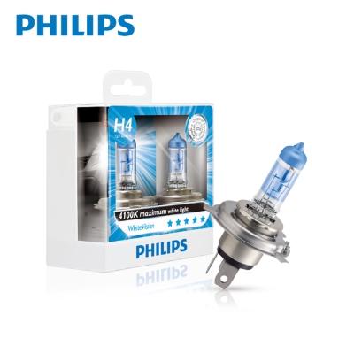 PHILIPS 飛利浦 車燈 璀璨之光 WHV 4100K公司貨(H11)