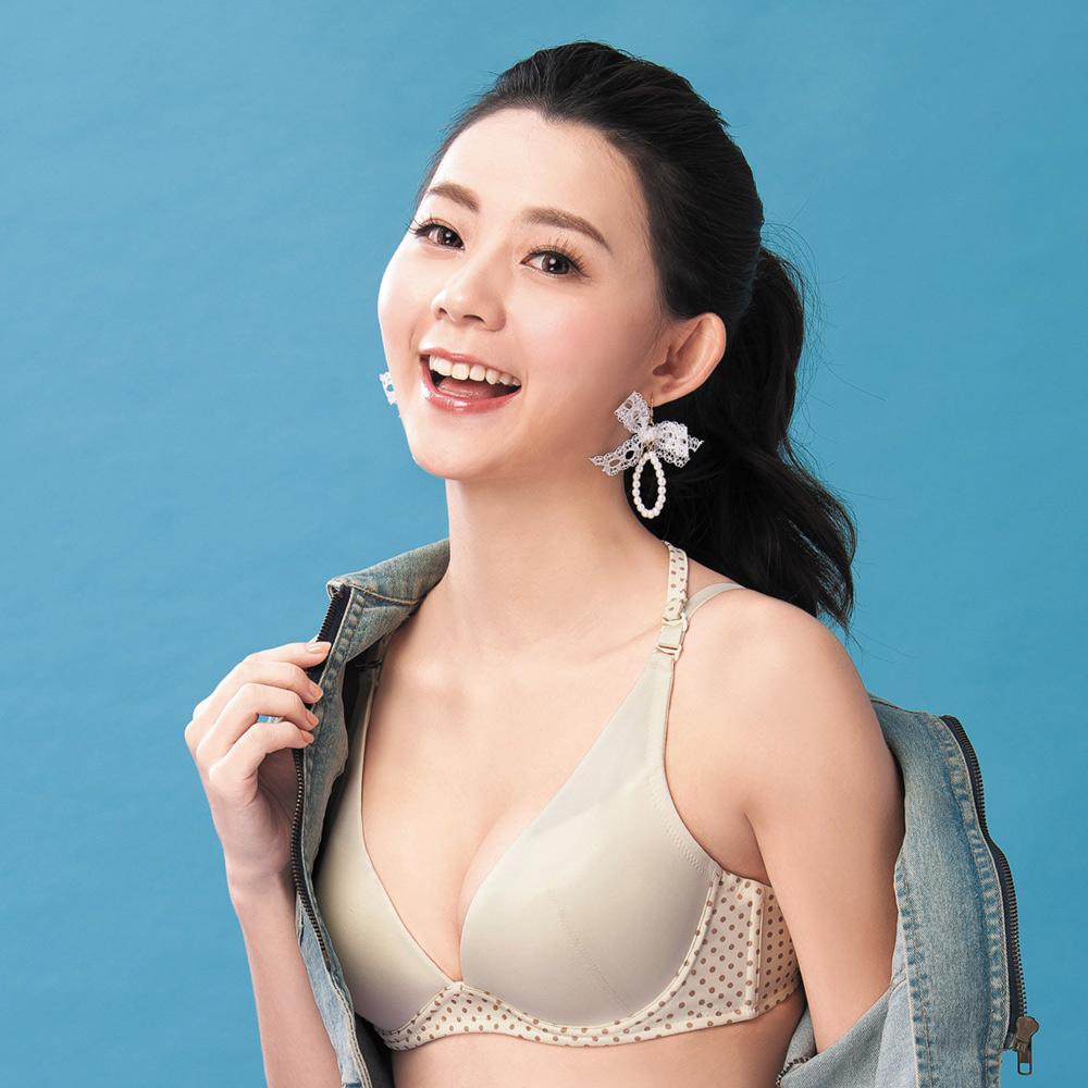 嬪婷 F.T.C 輕甜深V 系列 B-C 罩杯少女內衣(輕甜黃)變換肩帶