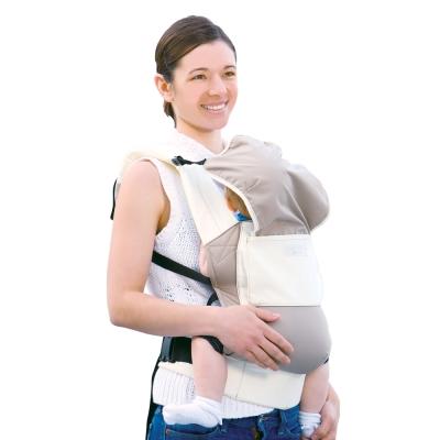 日本Eightex-COALATTE腰帶型二用式背巾-米色