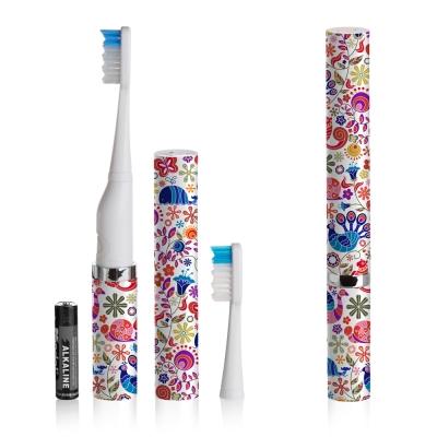 美國Violife 聲波電動牙刷-可愛花紋 VS2T704