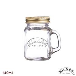 經典款迷你玻璃把手罐
