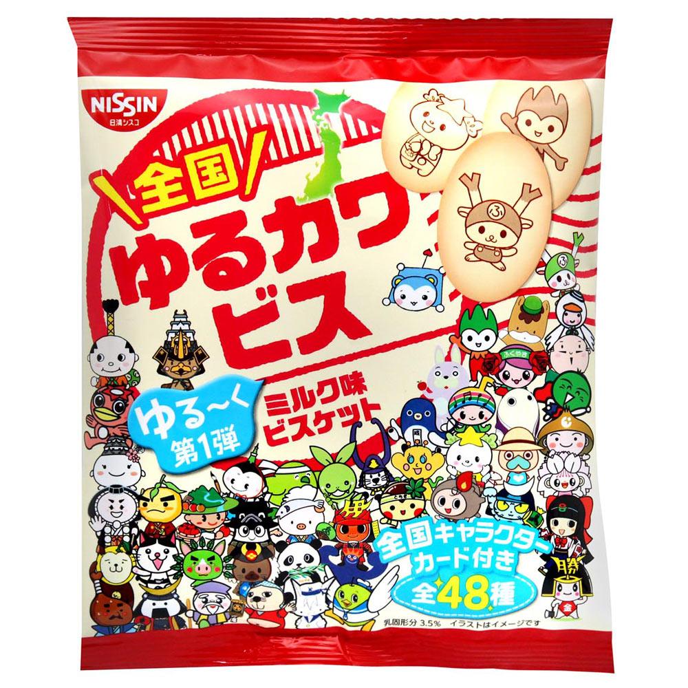 日清cisco 吉祥物造型牛奶餅乾(30g)