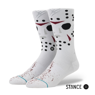 STANCE JASON-男襪-休閒襪-半夜鬼上床系列