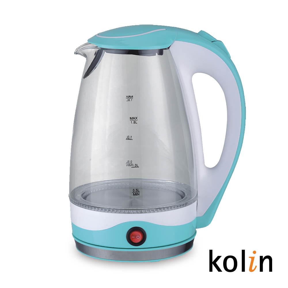 歌林1.8L玻璃保溫快煮壺KPK-DL1805G