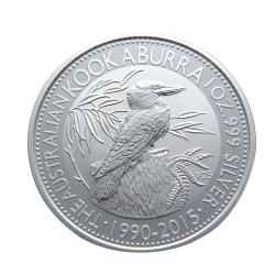 澳洲2015笑鴗鳥銀幣(1盎司)