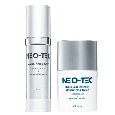 NEO-TEC妮傲絲翠天然玻尿酸 保濕聖品必敗組(高效保濕凝露+鎖水保濕精華乳)