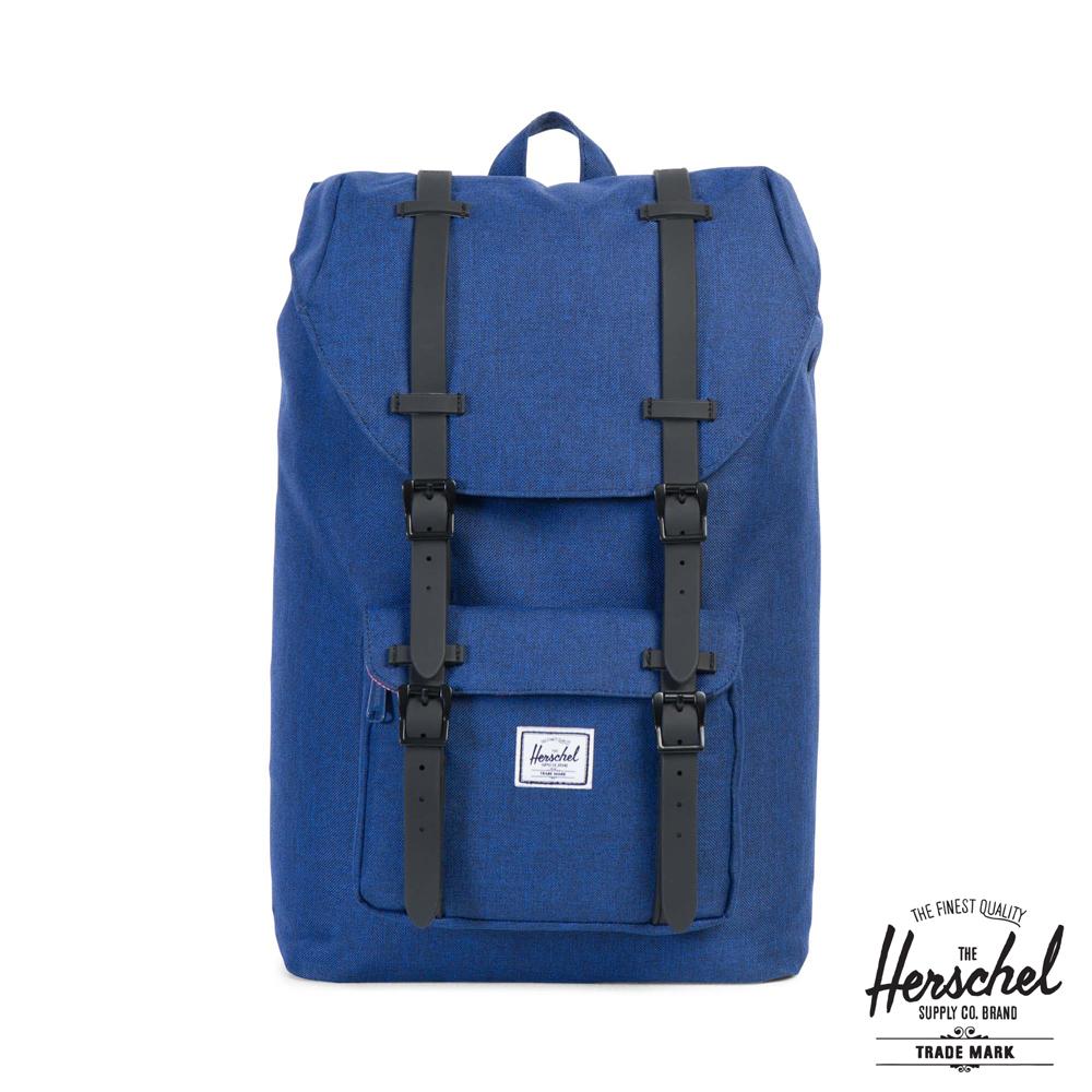 Herschel Little America Mid 後背包-藍色