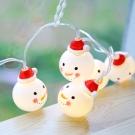 Conalife 聖誕老人/紅帽雪人 派對裝飾燈串