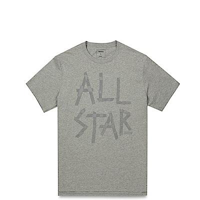 CONVERSE-男休閒短T恤10001199-035-灰