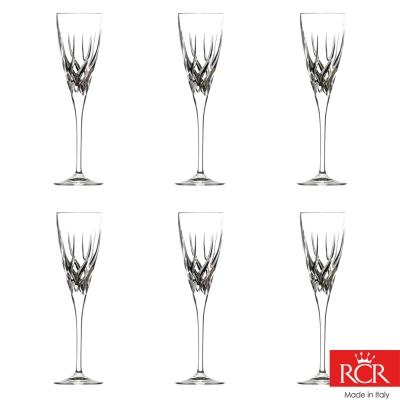 義大利RCR特瑞絲無鉛水晶香檳杯 (6入)120cc(8H)