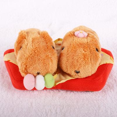 Kapibarasan 水豚君和菓子系列公仔(一對)