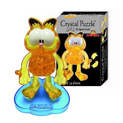 加菲貓 立體水晶拼圖(8cm系列-34片)