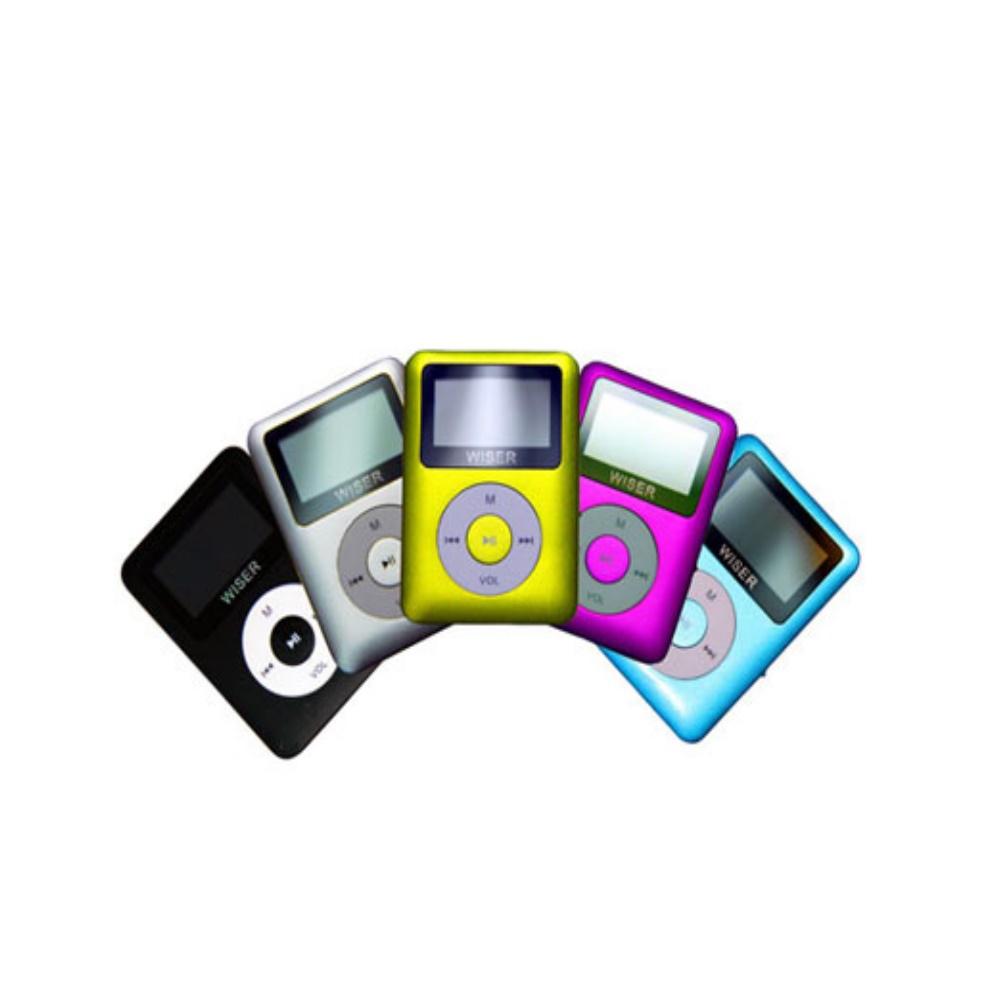 WISER亮彩小蘋果4GB MP3 (五色)