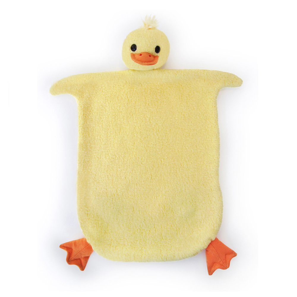 【美國 Apple Park】有機棉安撫巾彌月禮盒 - 小鴨