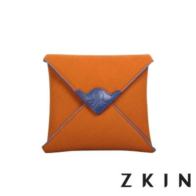 ZKIN-Mayura-拼接相機布包-橙藍夜色