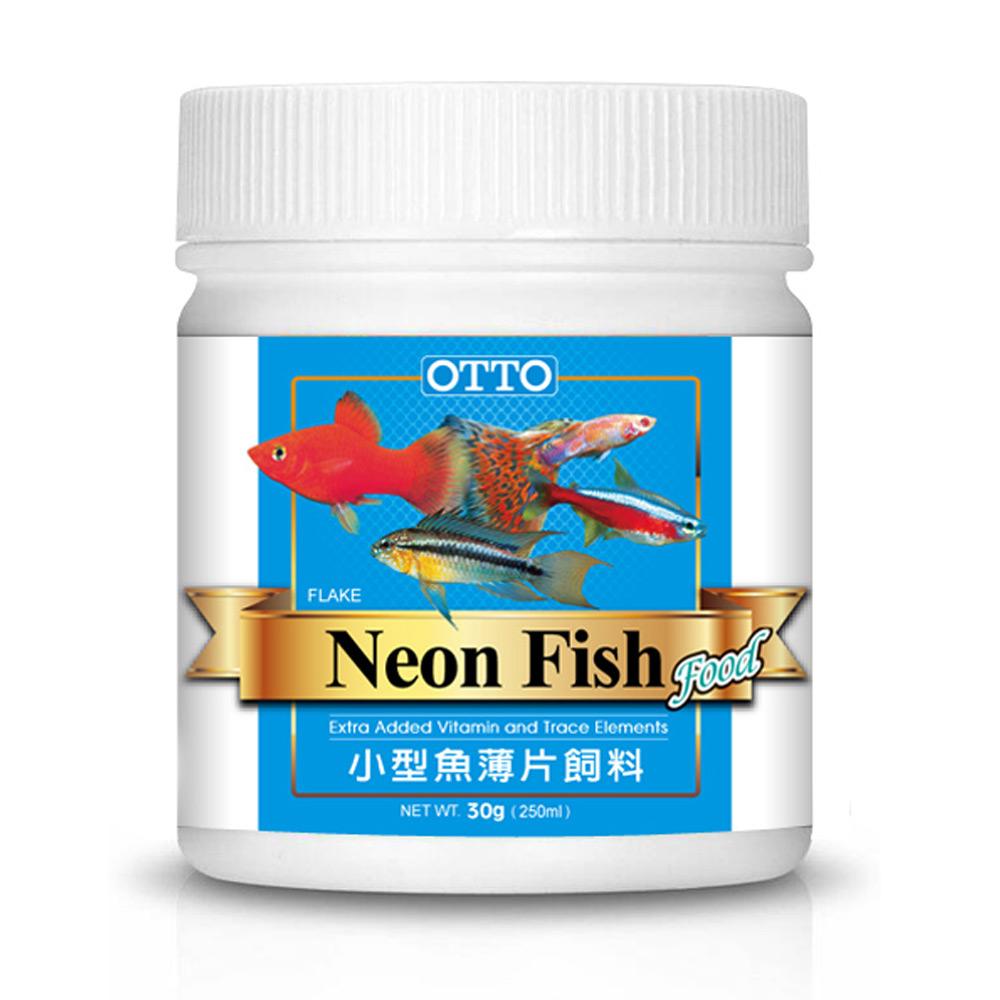 OTTO奧圖 小型魚薄片飼料 30g