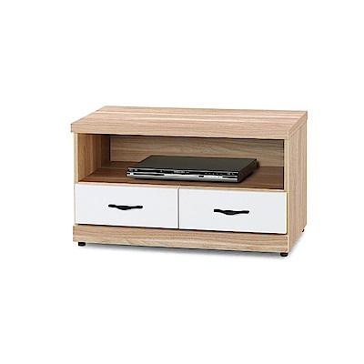 AS-艾妮兒原木雙色3尺電視櫃-83x40x48cm