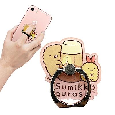 San-X官方授權 角落小夥伴 防摔指環扣 手機支架(照燒醬)