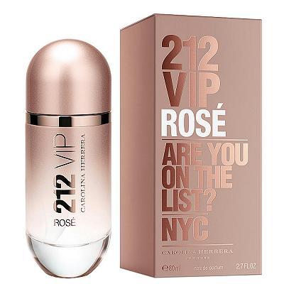 Carolina Herrera212 VIP Rose 粉紅香檳淡香精 80ml