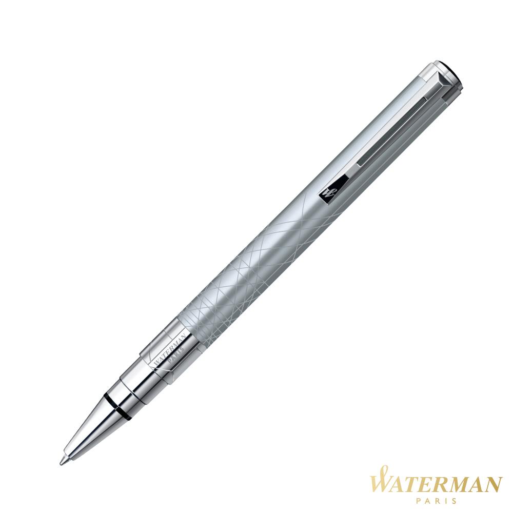 WATERMAN 透視系列 銀砂白夾 原子筆